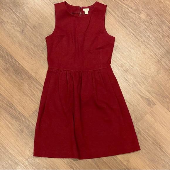 JCREW sleeveless, evening work dress with pockets!